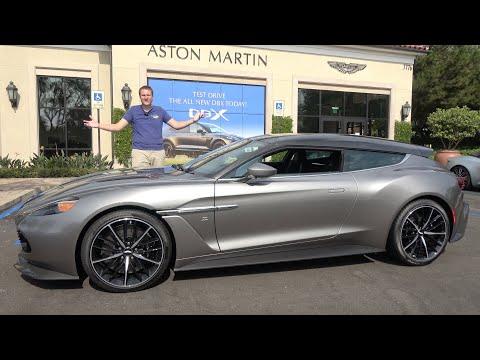 The Aston Martin Vanquish Zagato Shooting Brake Is a $1 Million Hot Hatchback