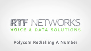 RTF Polycom - Redialling a Number