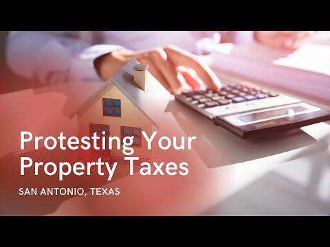 San Antonio Property Tax Protest Tips
