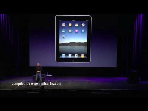 The Apple iPad Keynote In 3 Minutes Of Adjectives