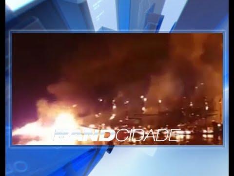 Quatro pessoas seguem internadas após explosões de barcos em Anori