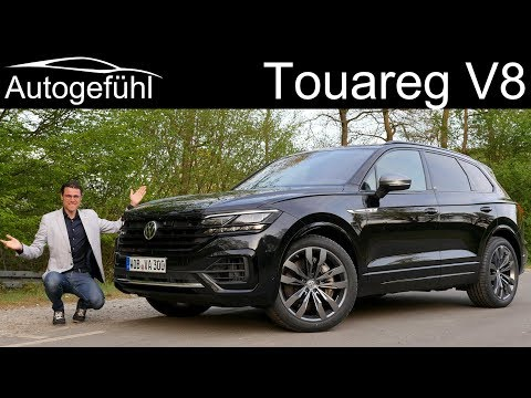 VW Touareg V8 R-Line Special Edition FULL REVIEW 2020 - Autogefühl
