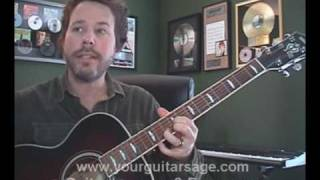 Guitar Lessons - The Bucket by Kings of Leon - cover Beginners Acoustic songs tutorial