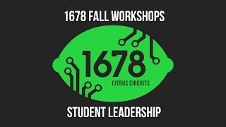 Fall Workshops 2018 - Student Leadership