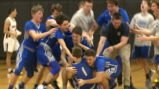 Lyman beats Montville on Lucey's buzzer beater