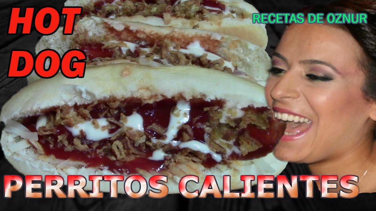 PERRITO CALIENTE HOT DOG | recetas de cocina faciles rapidas y economicas de hacer - comidas ricas