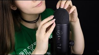 ASMR Microphone Scratching, Stroking, Brushing | АСМР Царапанье, Поглаживание, Шкрябанье