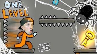 КАК СБЕЖАТЬ ИЗ ТЮРЬМЫ в игре One LEVEL 2 #5 Милана и Папа Новый Побег! Детский ЛеТсплей от FFGTV