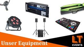 Licht, Ton Und DJ Equipment | Equipment Tour September 2019