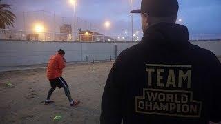 Александр Усик подготовка к финалу WBSS #USYKTRAININGCAMP (Барселона, часть 1)