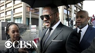 R. Kelly appears in Chicago court for hearing on sexual abuse
