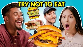 Try Not To Eat MrBeast Burger