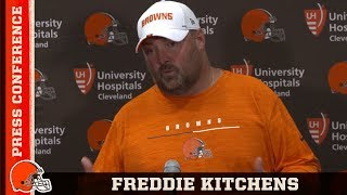 Freddie Kitchens Postgame Press Conference vs. Buccaneers | Cleveland Browns