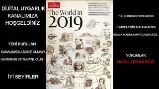 THE ECONOMİST 2019 KAPAĞINDAKİ ŞİFRELERİ AÇIKLIYORUZ !! // THE WORLD İN 2019