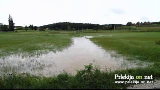 Narasle vode v Prlekiji