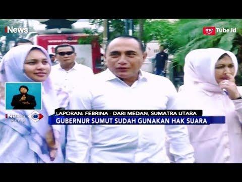 Suasana TPS Gubernur Sumut Edy Rahmayadi di Medan - iNews Siang 17/04