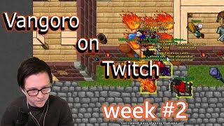 TIBIA PKING AND ESCAPING PKS   TOXICITY   VANGORO ON TWITCH #2