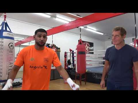 Amir Khan Had BEST Fish & Chips in LA EsNews Boxing