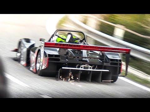 Prototypes MAXIMUM ATTACK at FIA Hillclimb Masters! Starts, High Speeds & Sounds!