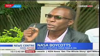 Kisumu youths back Raila Odinga's boycott calls