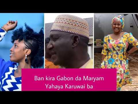KALLI VIDEO TANIMU AKAWO YACE MA HADIZA GABON DA MARY BOOTH KARUWAI