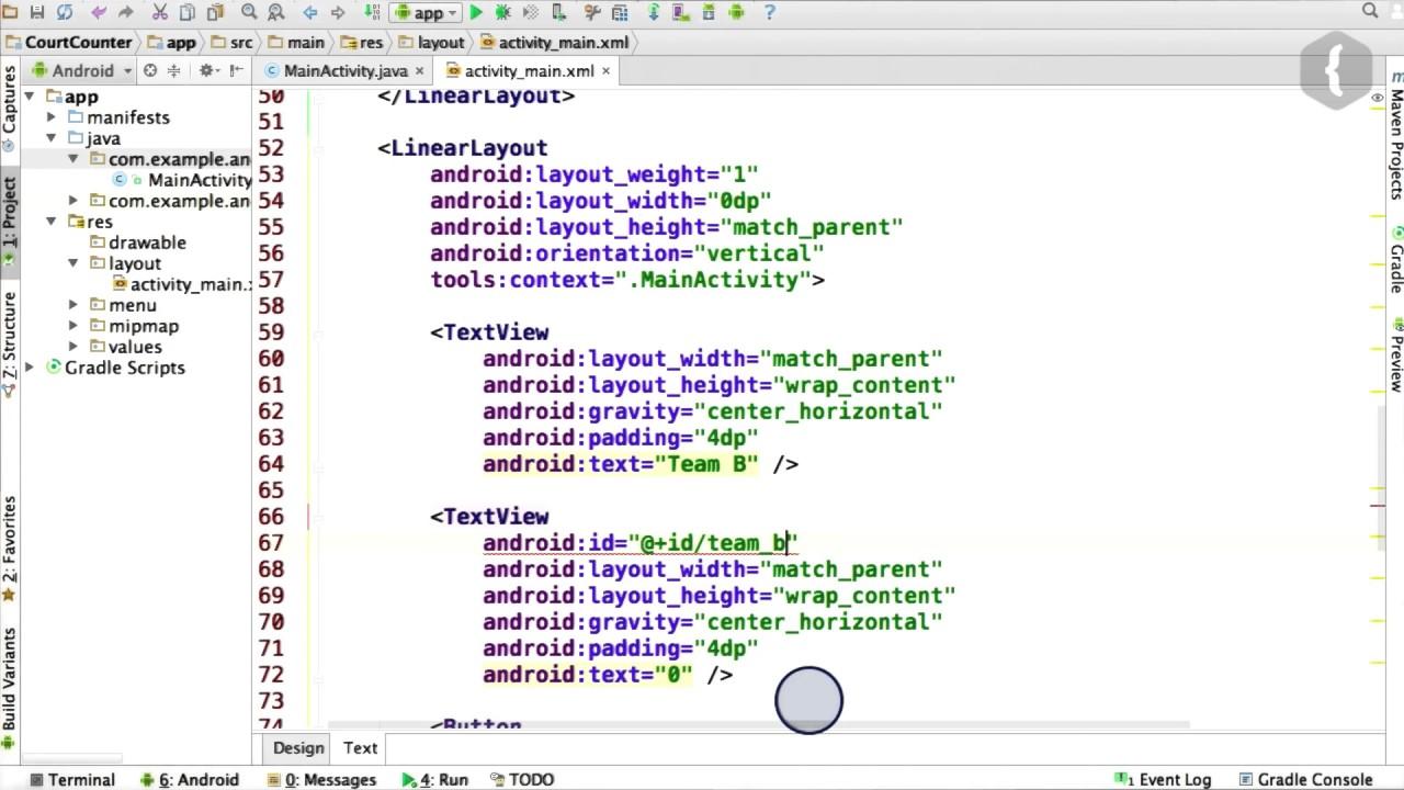 Добавляем вторую команду — код Java - 1