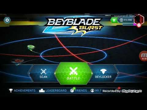 Genesis Valtryek V3 v/s Drain Fafnir F3 Beyblade burst app