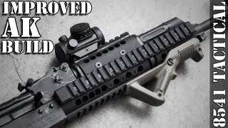 Improved AK Build - Midwest Industries AK47/74 Extended Handguard and TRS-25 Installation
