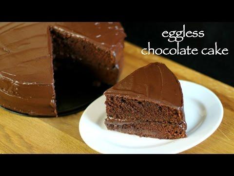 Video eggless chocolate cake recipe   eggless cake recipe   basic chocolate cake recipe