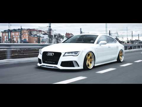 Slammed Audi A7 w/ custom exhaust (Martelius Exhaust Systems) | WORK Wheels (4K)
