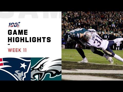 Patriots vs. Eagles Week 11 Highlights | NFL 2019 видео