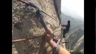 Video : China : The HuaShan 华山 'Plank Walk' - video