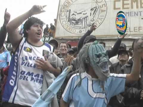 """""""ADT  DE TARMA   BARRA   ANTE  UNICACHI - INFORME  RADIO  SUPER A1"""" Barra: Sangre Celeste • Club: Asociación Deportiva Tarma"""