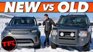 Is The New Land Rover Discovery ACTUALLY BETTER Than A $5000 14-Year-Old LR3??