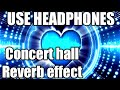 BanjaaraConcert hall Reverb effectfull s