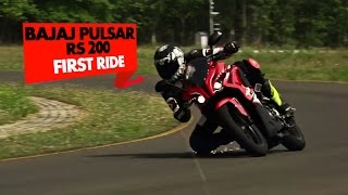 Bajaj Pulsar RS 200 | First Ride Review | PowerDrift