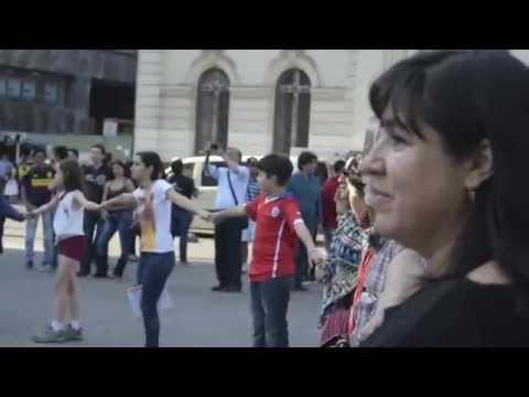 FLASHMOB CHILE: NO + VIOLENCIA CONTRA LAS MUJERES