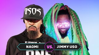 Naomi vs. Jimmy Uso: Superstar Impersonation Battle