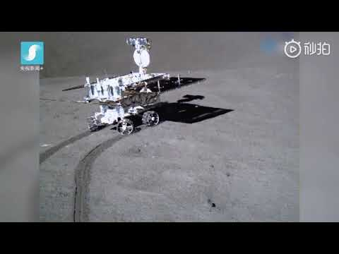 Yutu-2 rolls across the surface