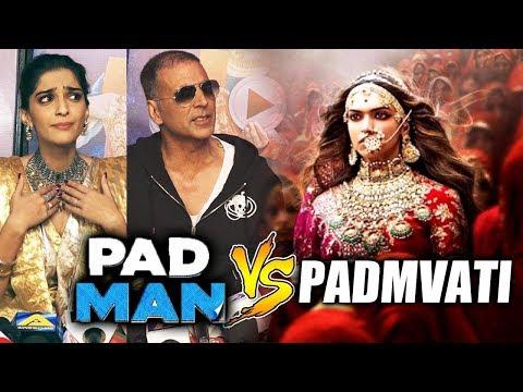 पद्मावत को रोकने आ रहा है पैडमैन | Padmavat Vs pedman | पैडमैन की पूरी स्टोरी