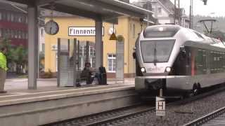 preview picture of video 'Bahnverkehr in Finnentrop am 28.06.2013[HD]'