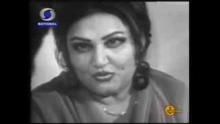 Dilip Kumar in conversation with Mallika E Tarannum Noorjehan - DD Studios in 1983