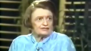 Ayn Rand Interviewed By Phil Donahue