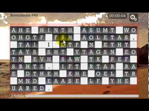 Vídeo do WORD PUZZLE for CHRISTIAN SOUL