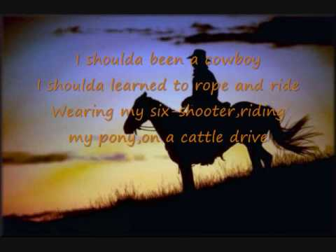 Toby Keith Shouldve Been A Cowboy Chords