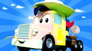 Autogaráž pro děti - Z Karla je Lucky Luke - Tomova Autolakovna ve Městě Aut