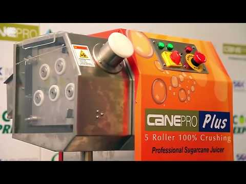 CanePro Plus 5 Rollers Sugarcane Juice Crusher