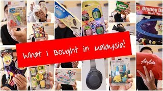 What I bought from Malaysia - Shopping Haul