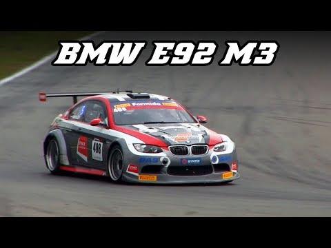 BMW E92 M3 V8 racecars - Z4 GT3-like intake sound