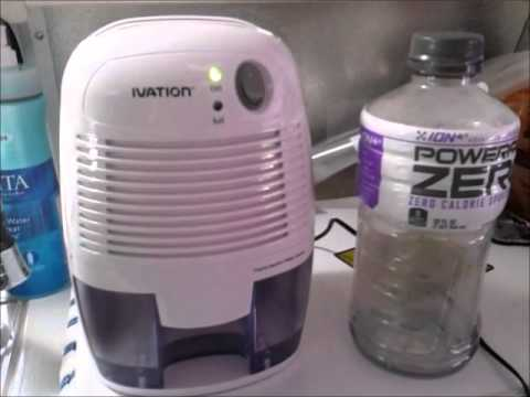 RV Stuff - Great Gadget for RV'ers - Ivation mini Dehumidifier Review